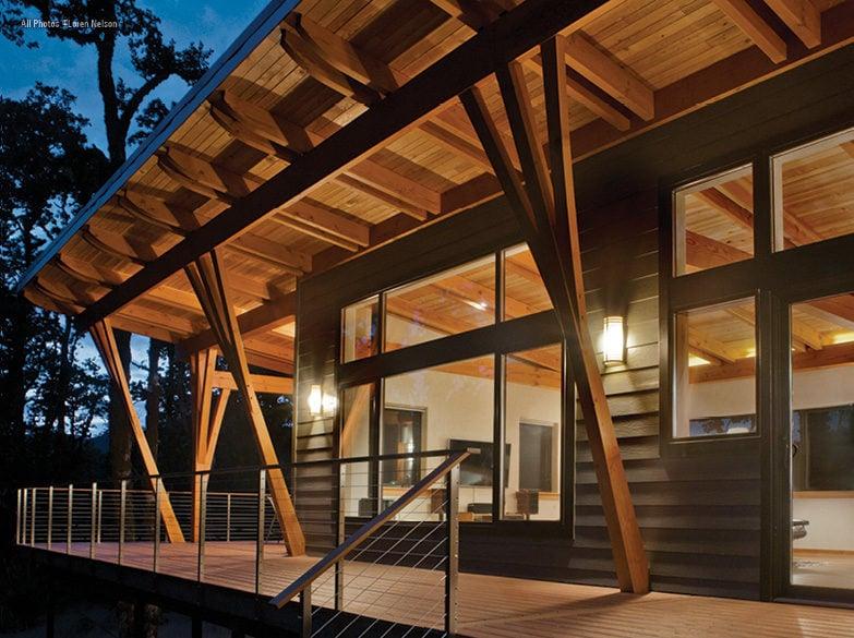 New Energy Works Timberframers West Coast Studio