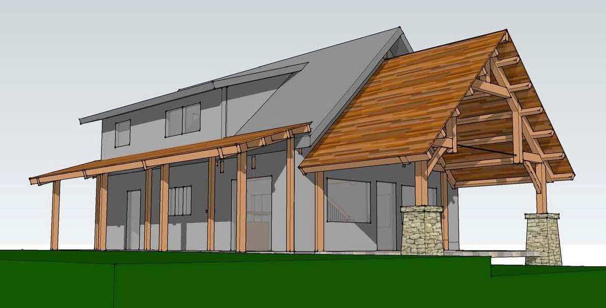 Tugaloo Cabin A Timber Frame Bungalow Timber Frame Hq