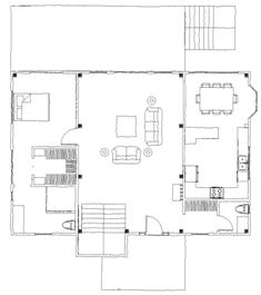 Rocky Gap Cabin floor plan