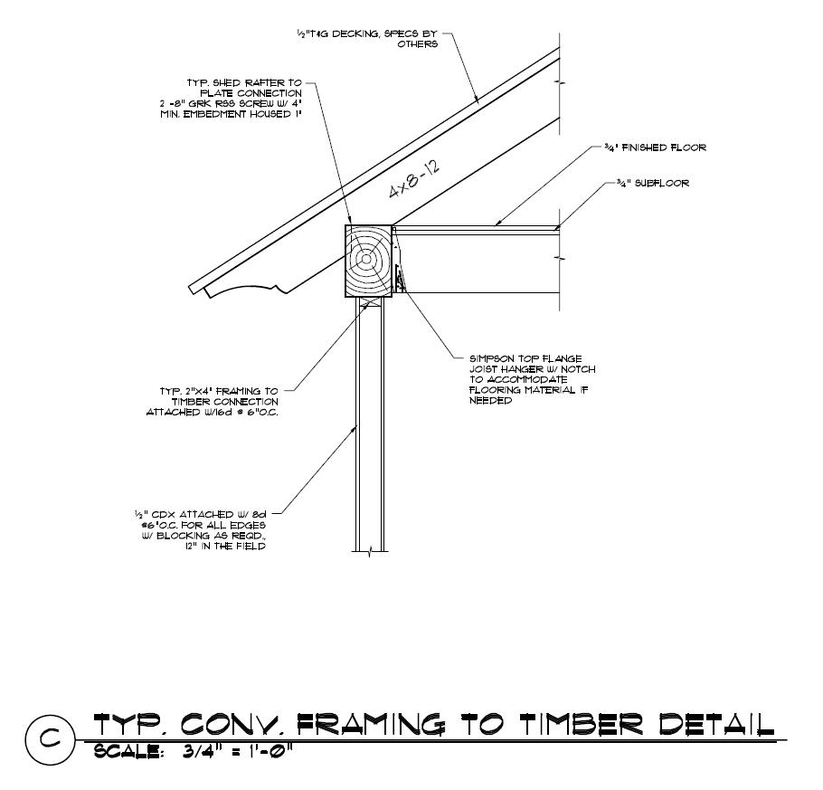 Hybrid Construction - Timber Frame HQ