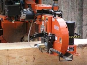 Wood Mizer Saw Mill Close Up