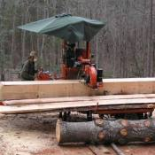 Wood Mizer Saw Mill