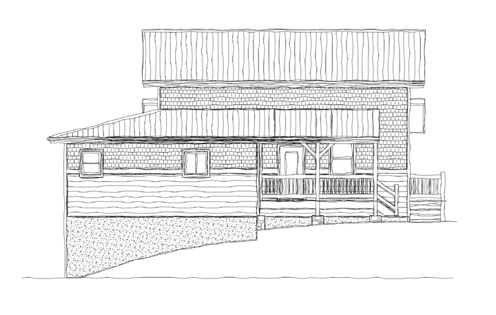 Whetstone Creek Cabin Elevation