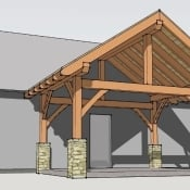 Porch Plans Timber Frame Hq