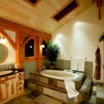 Timber Frame Master Bathroom