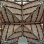 Atlanta Athletic Club pool pavilion ceiling