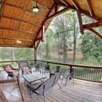 hammer beam truss porch