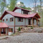 Wildwater's Corkscrew Cabin Front View