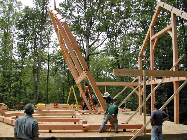 Building A Timber Frame Cabin Episode
