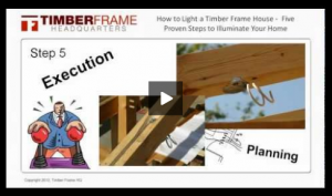 How to Light a Timber Frame