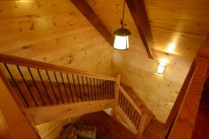 Lighting a Timber Frame