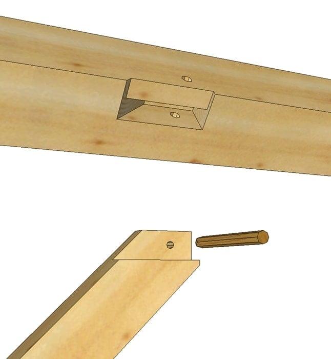 Knee Braces - Timber Frame HQ