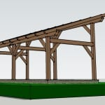 Post and Beam Shed