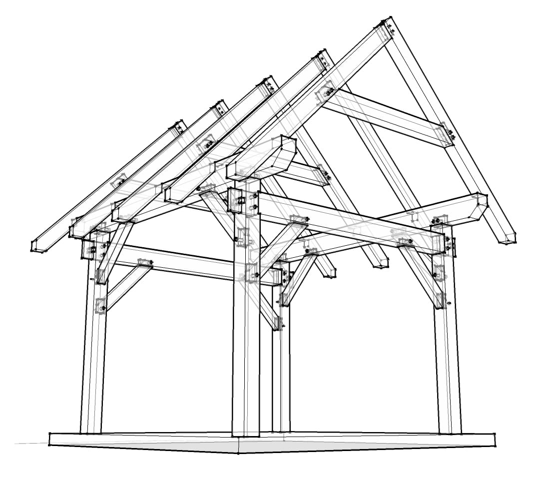 12x12 timber frame plan timber frame hq timber frame shed joinery