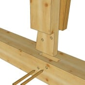 King Post Wedge Tenon