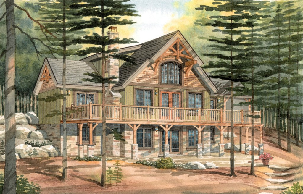 Carleton A Timber Frame Cabin