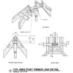 King Post Timber Linx Detail