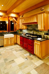 Deluxe Timber Frame Kitchen