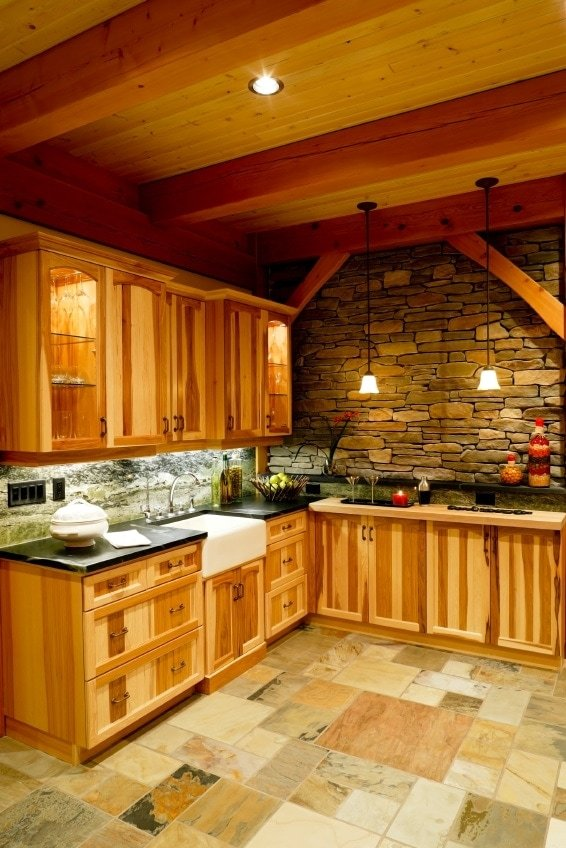 Make your timber frame kitchen space a welcoming haven for Timber frame kitchen