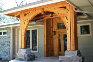 Exterior Porch Finish