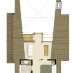 Renfrew Loft Floor Plan Colored