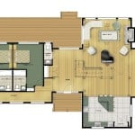 Renfrew Main Floor Plan Colored