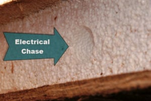 Running Wires in SIPs Electrical Chase