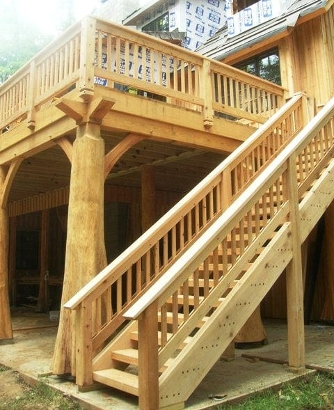 How To Design A Deck For Function And Fun Timber Frame Hq