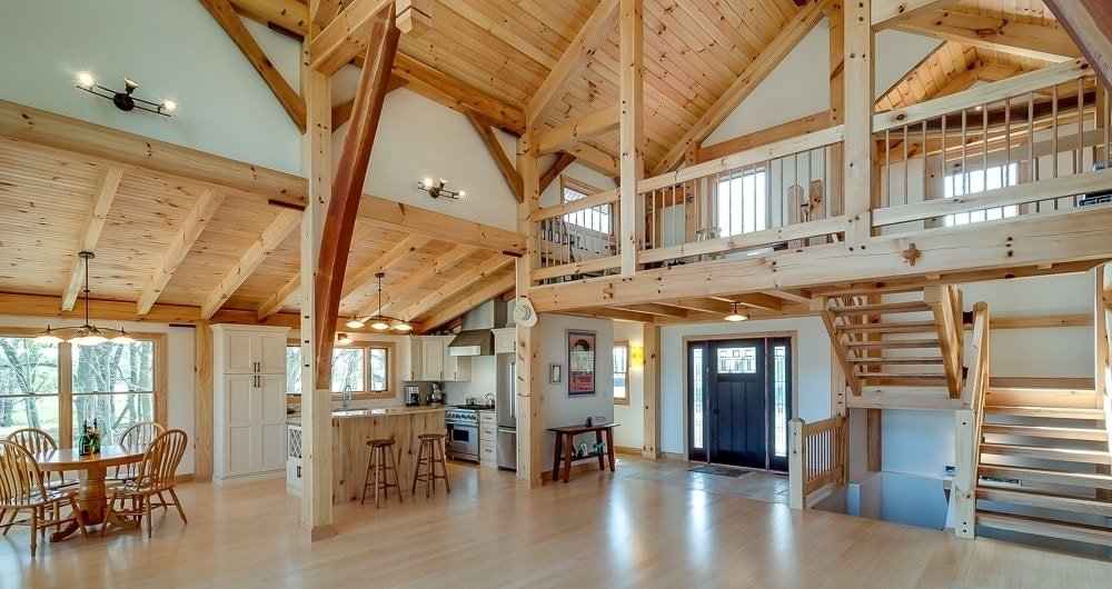 Charm Factor -Timber Frame Loft