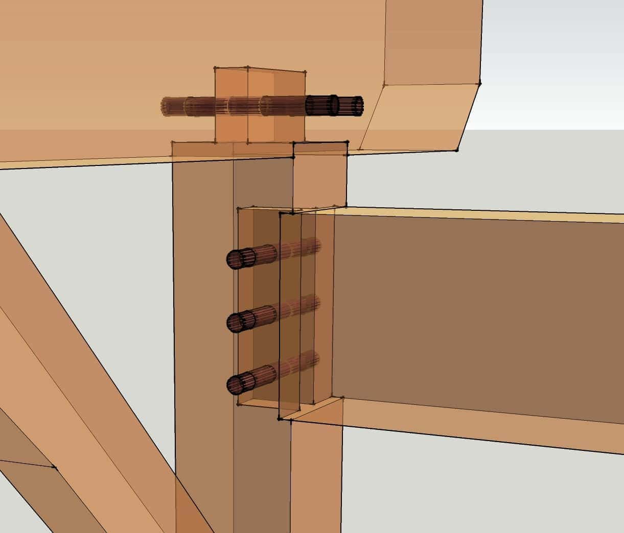 Oak Framed Construction Details   Frameswalls org