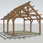 King Post Truss Pavilion