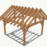 16x16 Timber Frame