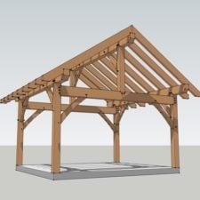 Post and Beam Pavilion