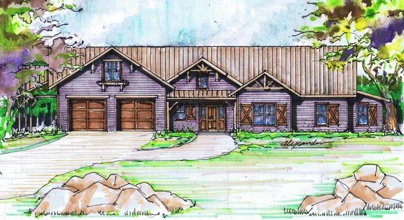 Laurel Creek Cabin Rendering Small