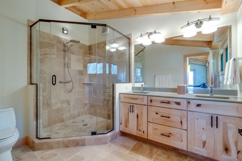 Hybrid Frame Bathroom