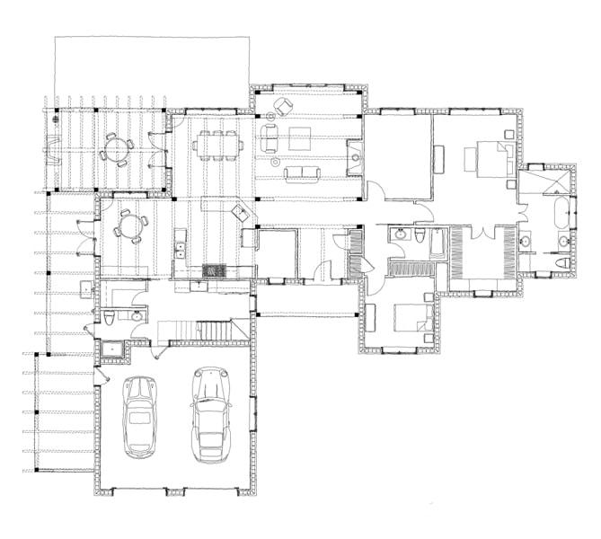 Laurel Creek Main Floor Plan