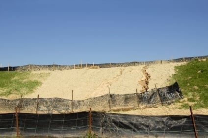 Using a Silt Fence for erosion control