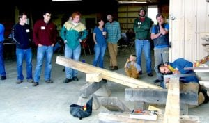 2013 Southeast Timber Framers Guild Meetup - Joint Testing