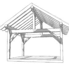 14x16 Timber Frame