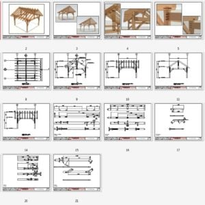 16x16 Shed Plan Overview