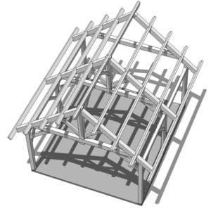 Isometric of Pavillion
