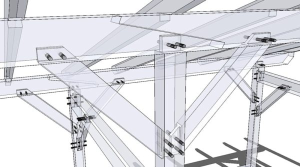 Scarf Joint X-ray View