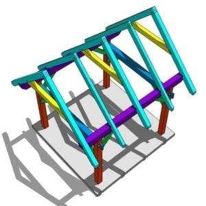 12x12 Timber Frame Shop