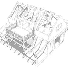 20x36 Timber Frame