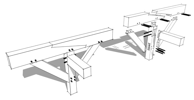 Stop Splayed Scarf Joint - Timber Frame HQ