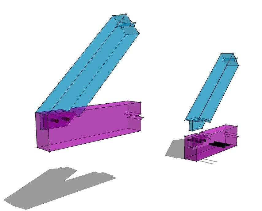 Notched Rafter Tie Beam Joint