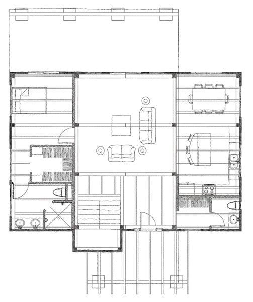 Rocky Gap Main Floor Plan