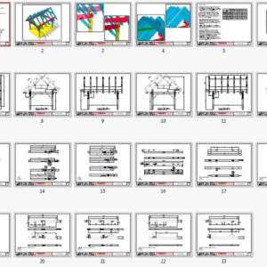12x16 Timber Frame Plan Overview