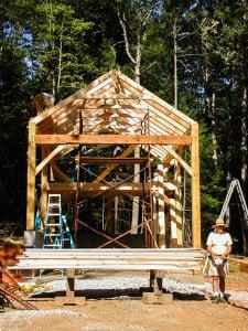 16x24 Timber Frame