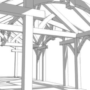 16x32 Timber Frame
